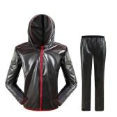 屋外防水バイクレインウェアスーツ防風サイクリングレインコートメンズ女性自転車ウィンドレインコートコート服自転車スーツ