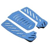 Set de 3 piezas de tabla de surf almohadillas de cola de surf surf cubierta apretones Adhesivo Stomp Pad para Surf Skimboard accesorios de deportes acuáticos