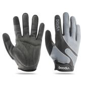 Luvas de ciclismo sensível ao toque de Boodun Full Finger