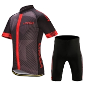 Мужская одежда Lixada для велосипедной одежды Быстрая сухая футболка с коротким рукавом с длинным рукавом и трикотажные штаны