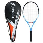 Raquete de tênis de carbono Raquete de tênis ao ar livre com treino ao ar livre com saco de capa