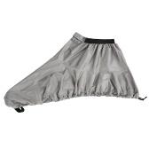 Universal ajustable deporte impermeable nilón Kayak Spray falda cubierta Sprayskirt cubierta