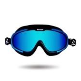 Gafas de natación Antivaho Protección UV a prueba de roturas Gafas de agua de vidrio de natación ajustable con estuche para hombres Mujeres