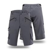 Pantalones cortos deportivos ARSUXEO Baggy para hombre Pantalones cortos deportivos para bicicleta