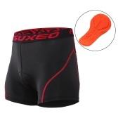 ARSUXEO Hombres ciclismo ropa interior 3D acolchado bicicleta MTB pantalones cortos