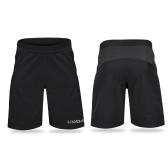 Pantalones cortos ligeros de Lixada para hombres que ejecutan entrenamiento de gimnasio Pantalones cortos deportivos ocasionales de malla transpirable