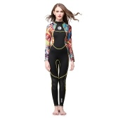 3mm Full Body Women Neoprene Muta Colore Diving Snorkeling Nuoto Attrezzatura per sport acquatici