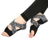 Yoga Sock Women Half Toe Grip Non-slip for Yoga Pilates Training Shoes