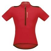 Camiseta de ciclismo de manga corta para hombre, transpirable, con cremallera, medio MTB, ciclismo, bicicleta, camiseta