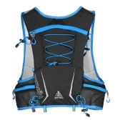 5L Multi Pocket Outdoor Reflektierende Laufweste Rucksack Belastete Hydration Weste Pack Tasche Marathon Jogging Wandern Radfahren Rucksack