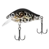 Blusea 1 pz 2 pollice 8.3g Mini Crankbait Galleggiante Richiamo di Pesca Crank Bass Bait Wobbler Fishing Lure Hard Fishing Lure Bait