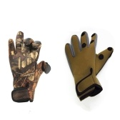 Рыболовные перчатки Сезоны Рыболовные рукавицы Носить устойчивые рыболовные перчатки Охота Велоспорт Рабочие перчатки