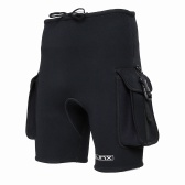 Pantaloncini mute Pantalone da sub 3mm Neoprene Canoeing Nuoto Snorkeling Surfing Kayak Pantaloni con tasche