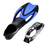 Snorkel Gear Set Snorkel Tube Fin Tempered Diving Mask for Adult
