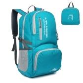 30L Ultralight Handy Travel Backpack Zaino resistente all'acqua Escursionismo Daypack Sacchetto pieghevole leggero per il campeggio Outdoor Viaggi in bicicletta