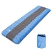 Almohadilla de dormir hinchable para colchoneta de aire con bomba de pie incorporada Infladora de colchoneta de suelo Colchón Acampada Mochilero Senderismo Viajar