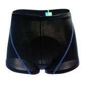 Pantalones cortos para hombre 3D acolchado