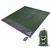Наружное портативное водонепроницаемое пляжное одеяло