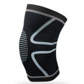 1 STÜCKE Knie Unterstützung Knieschützer Kniepolster Gym Gewichtheben Knie Wraps Bandage Straps Schutz Kompression Knie-hülsen-klammer für Arthritis Running Schmerzlinderung (Grün Größe XL)