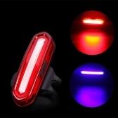 Rosso posteriore ricaricabile per bicicletta con luce posteriore a LED per bicicletta