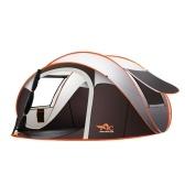 Открытый полноавтоматический мгновенный разворот палатки