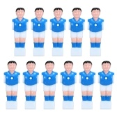 11Pcs Table Football Machine Doll 15.8mm Calibre Juegos de mesa Soccer Mini Doll Atleta Jugador de futbolín Parte