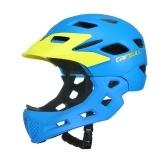Mento staccabile per casco integrale da bici per bambini