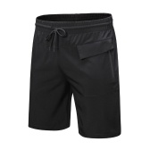 Sports Shorts Quick Dry Pockets Loose Breathable Gym Running Workout Activewear