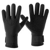 Перчатки для гидрокостюмов из неопрена 3 мм Теплые перчатки для подводного плавания Зимние перчатки для серфинга Тепловые нескользящие перчатки для подводной охоты Плавание Рафтинг Плавание на байдарках