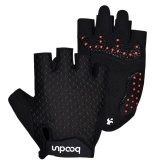 Luvas de ciclismo Unisex Half Finger Riding Gloves