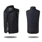 USB Back Neck Electric Heating Warm Vest Men