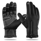 Inverno Quente Touchscreen Luvas de Ciclismo À Prova de Vento Dedo Completo Luvas de Esportes de Inverno para Homens Mulheres Ciclismo Condução Caminhadas Motociclismo