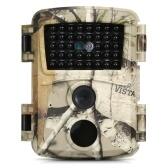 Mini Trail Camera 12MP 1080P Охотничьи игры с активированным движением Наружная камера для разведки дикой природы IP54 Водонепроницаемая для домашнего сада и фермы