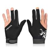 BOODUN 1Piece Billiard Glove 3 Fingers Cue Guanti sportivi