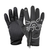 Winter Cycling Full Finger Touchscreen Anti-slip Bicycle Warm Gloves