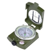 Portable Lensatic Kompass Handkompass für Outdoor Camping Positionierung Orientierung Plotting