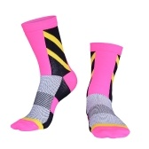 Gleitschutz-saugfähige Socken, die Fahrrad-Rennläufer-laufende Marathon-Kompressions-Sportsocken radfahren