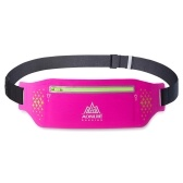 Schwarz AONIJIE W923 Laufgürtel Sporttasche Wasserdicht Hüfttasche Outdoor Jogging Marathon Trail Racing Training Produkt Geeignet für Männer und Frauen