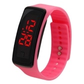 Kids Sport Electronic LED Bracelet Silicone Smart Watch Children Wrist Digital Watches
