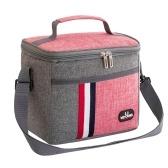 Сумка для обеда из алюминиевой фольги 8 л, переносная изоляционная сумка, изоляционная сумка для пикника, пассажиры, переносящие инструменты для обеда, сумка для еды для работы