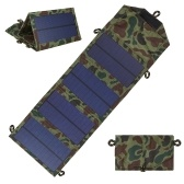 7W Foldable Solar Charger Certified Sun Power Panel Portable Power Source