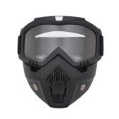 Óculos de proteção destacáveis modulares da máscara