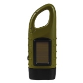 Hand Crank Solar Powered Rechargeable Flashlight