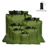 6 PCS saco impermeável ao ar livre saco seco