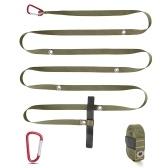 Outdoor Camping Zelt Windseil Robustes Nylon Windseil Multifunktionales Zeltseil Schnalle Verstellbares Wäsche-Hängeseil