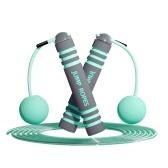 Springseil Kinder Erwachsene Schnurloses Springseil Weighted Speed Rope zum Training Fitness Boxen Abnehmen