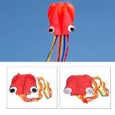 4M Octopus Drachen langen, weichen Kite mit Griff Line Outdoor-Sportarten