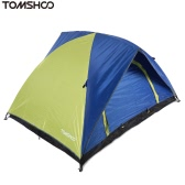 TOMSHOO Double-Layer-Doppeltür Camping Zelt Freizeit Zelt 200 * 150 * 115 cm