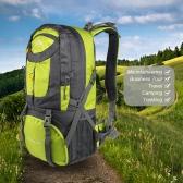 Homens Mulheres 50L grande capacidade Outdoor Sports Montanhismo Mochila Caminhadas Trekking Travel Bag Mochila