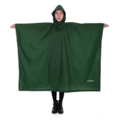 TOMSHOO Moldura leve multifuncional com capuz Caminhada Ciclismo Cobertura de chuva Poncho Rain Coat Outdoor Camping Tent Mat